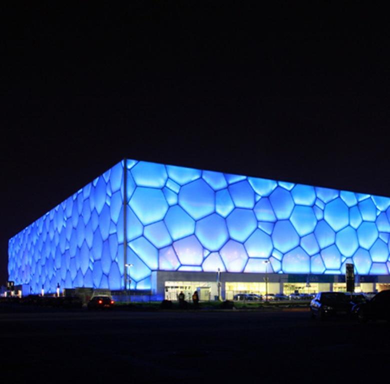 Watercube Beijing Bolidt Arup Vector Foiltec Archello