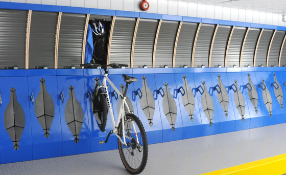 Office Bicycle Parking H B Designs Ltd Archello