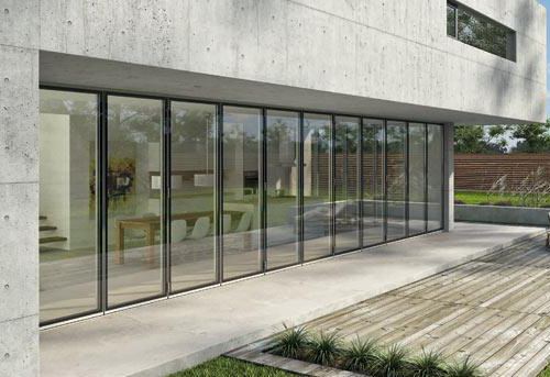 Exterior Folding Glass Doors By Solarlux Archello