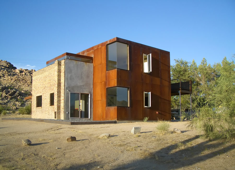 Joshua tree house forrest fulton architecture archello for Accent tree for corner of house