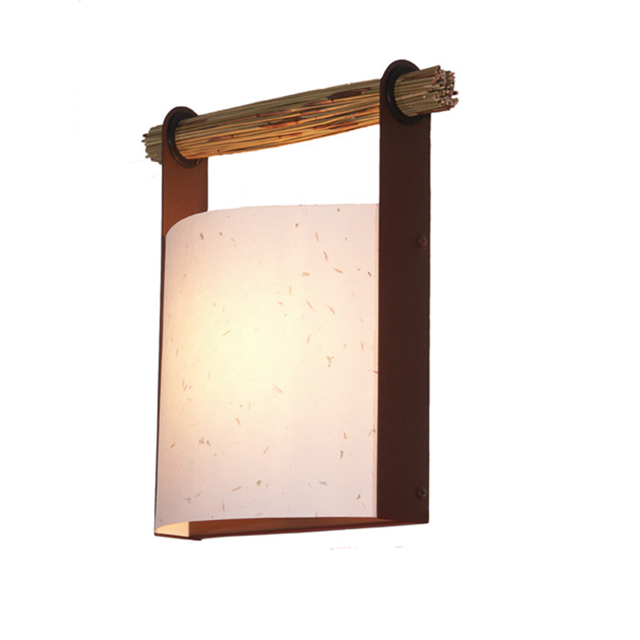 Japanese lantern wall sconce by fire farm lighting archello aloadofball Images