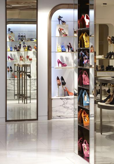 Harrods Ladies Shoe Hall | Shed | Media