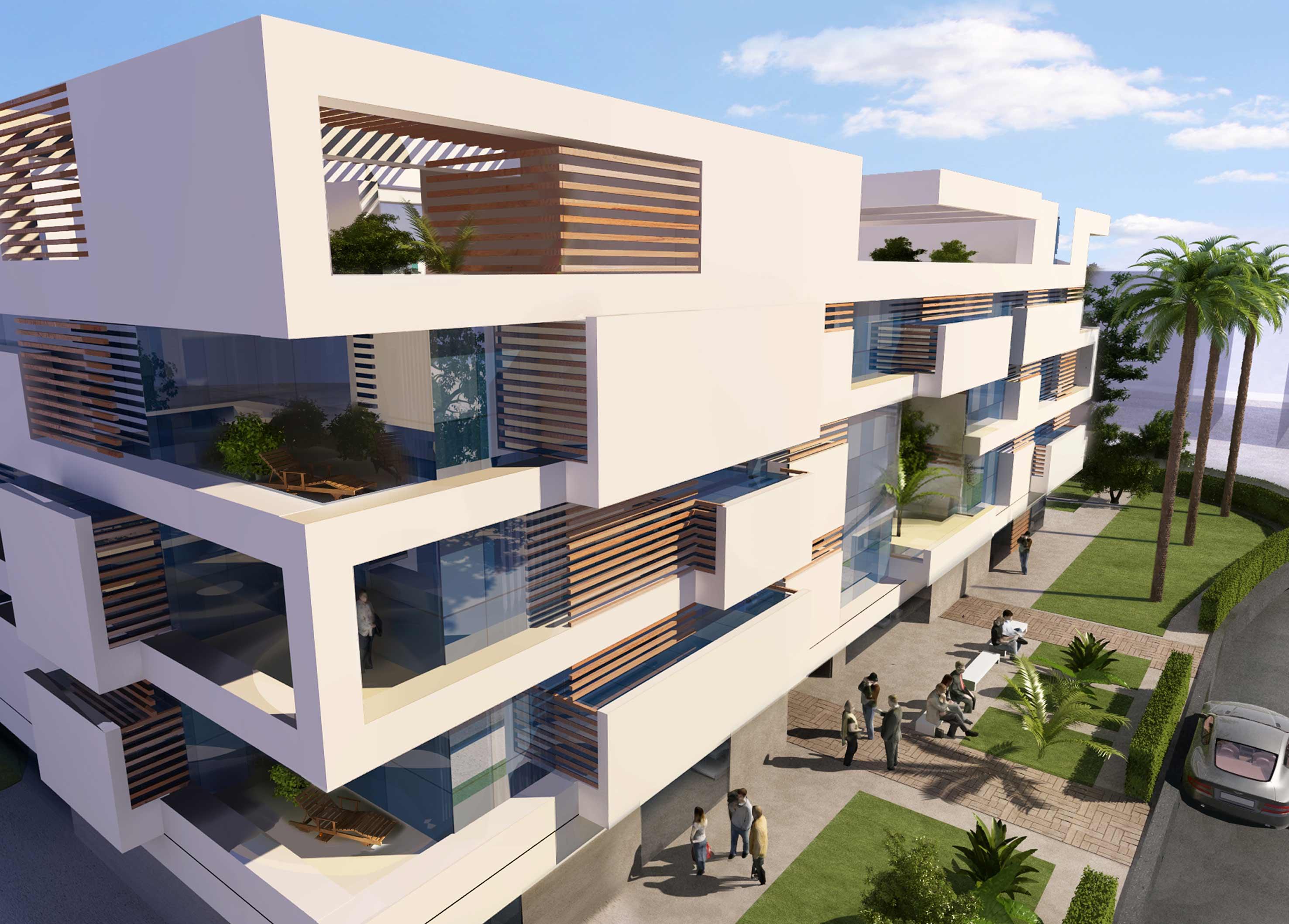 block 36 shahira h fahmy architects archello. Black Bedroom Furniture Sets. Home Design Ideas