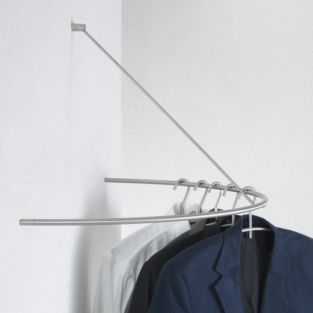 Phos Design wall wardrobe as a half circlephos design gmbh | archello