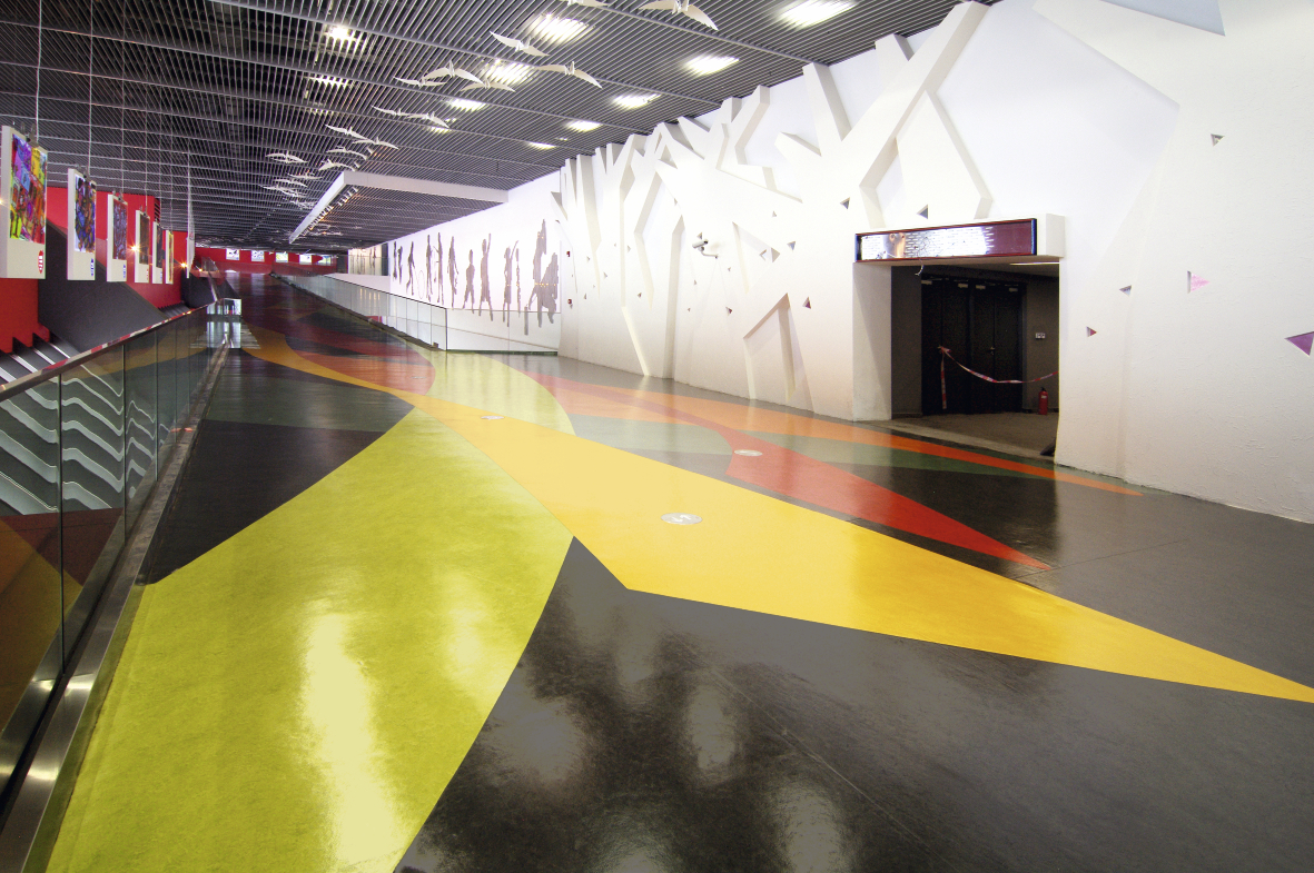 China Pavilion In 2010 World Expo Forbo Flooring Systems