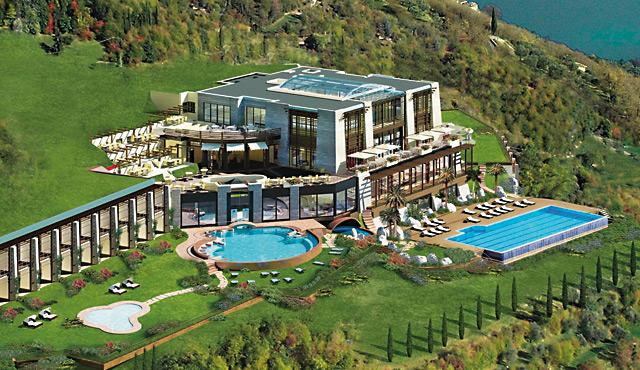 lefay resort and spa zumtobel lighting gmbh archello. Black Bedroom Furniture Sets. Home Design Ideas