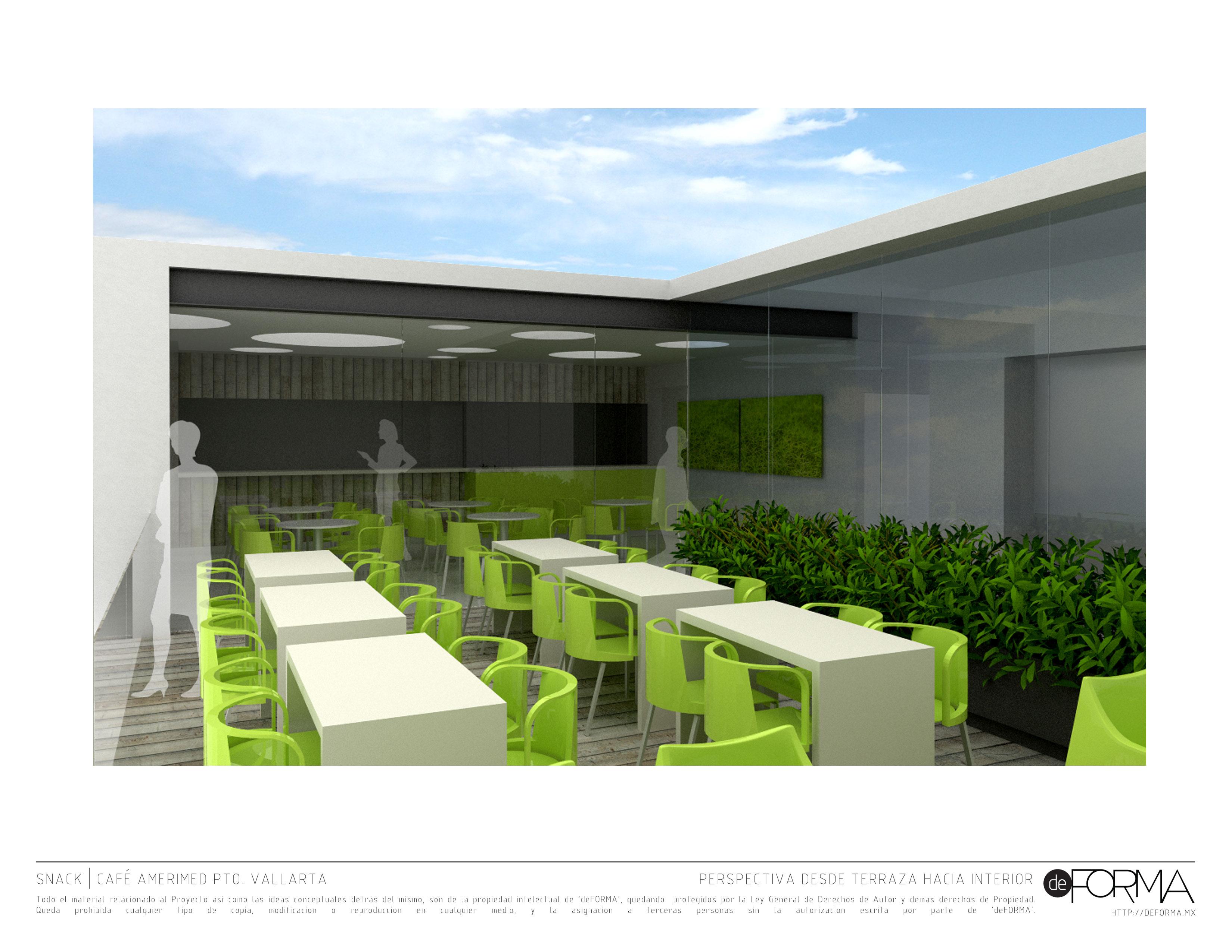 Cafe For Amerimed Hospital Vallarta Deforma Estudio