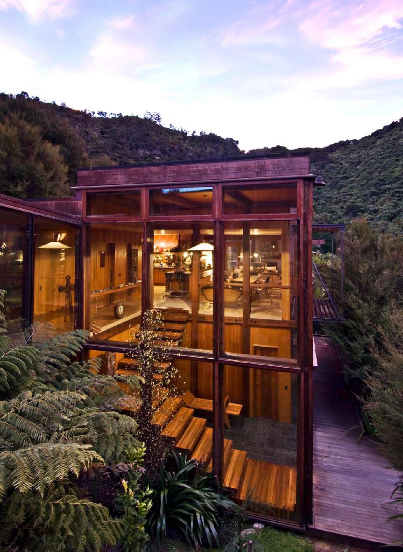 Waterfall Bay House Bossley Architects Archello