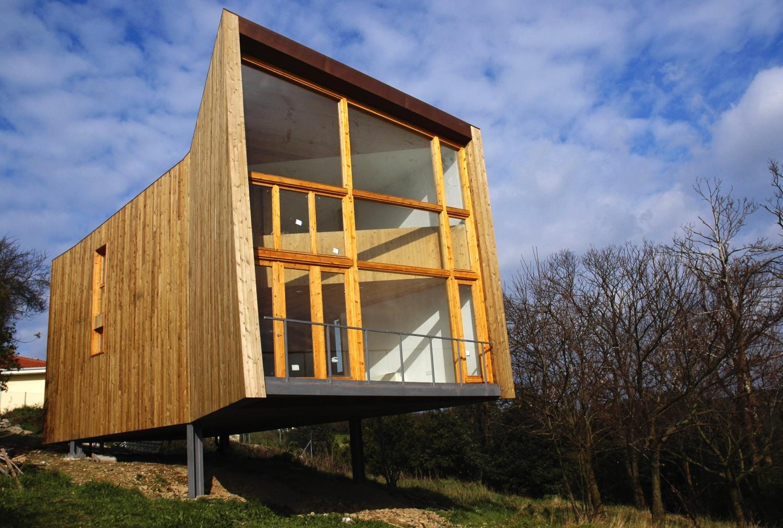 House Of Steel And Wood Ecosistema Urbano Archello