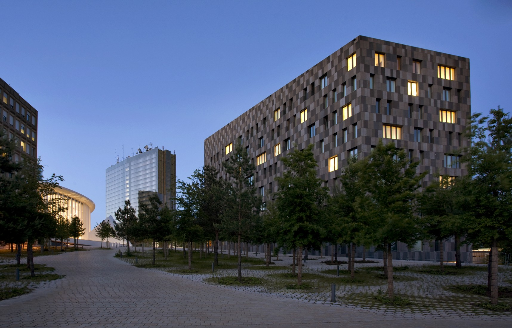 Hotel melia luxembourg atelier darchitecture jim clemes media