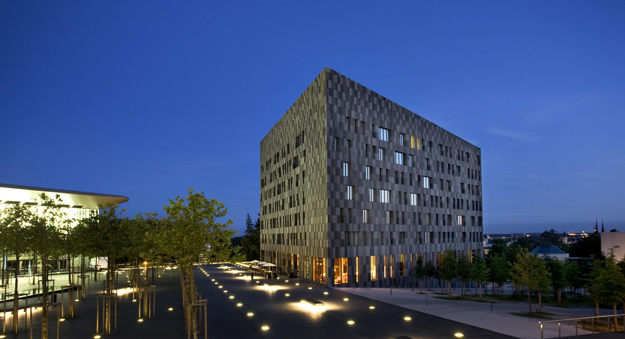 Hotel melia luxembourg atelier darchitecture jim clemes archello