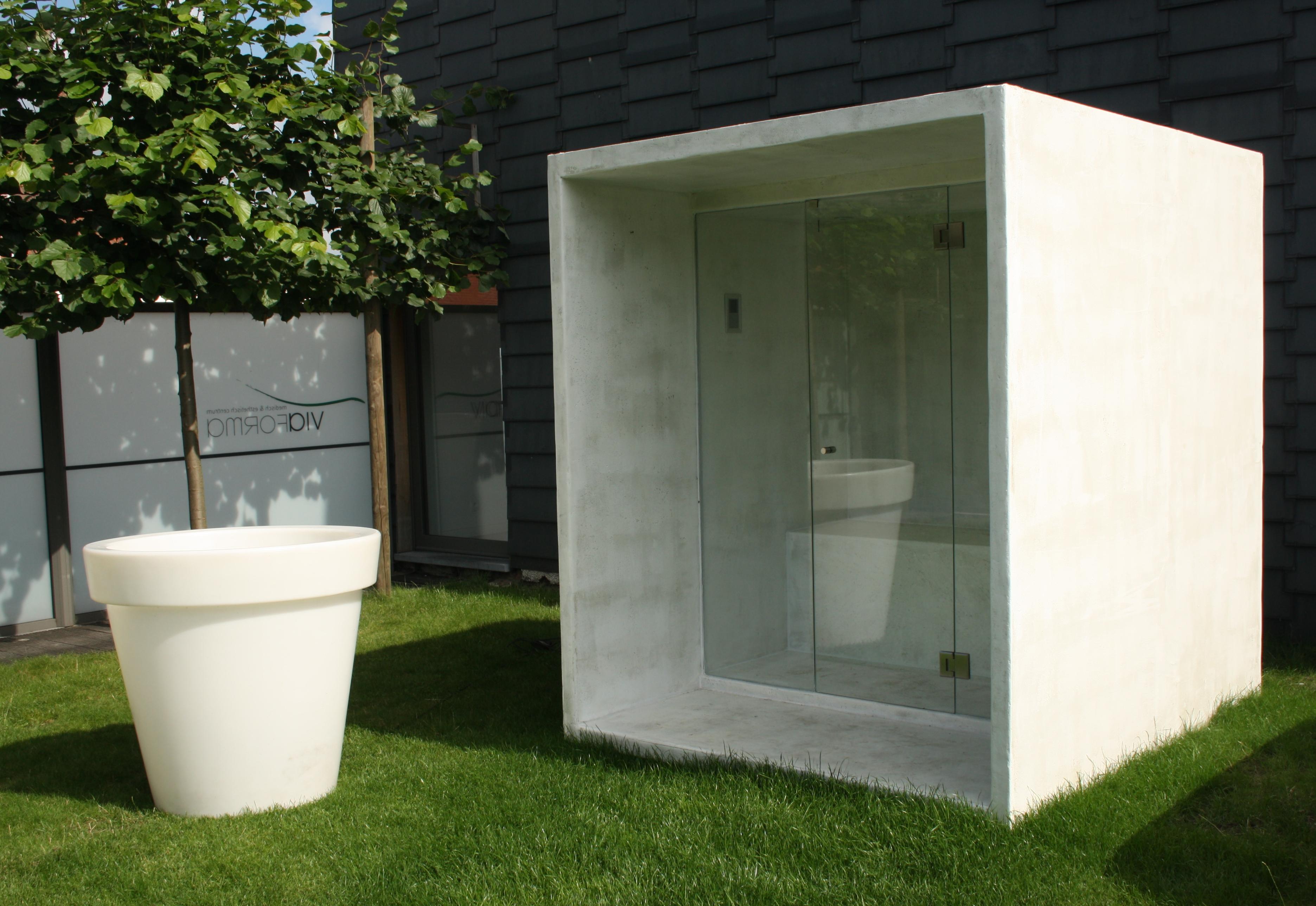design outside sauna by thermalux archello. Black Bedroom Furniture Sets. Home Design Ideas