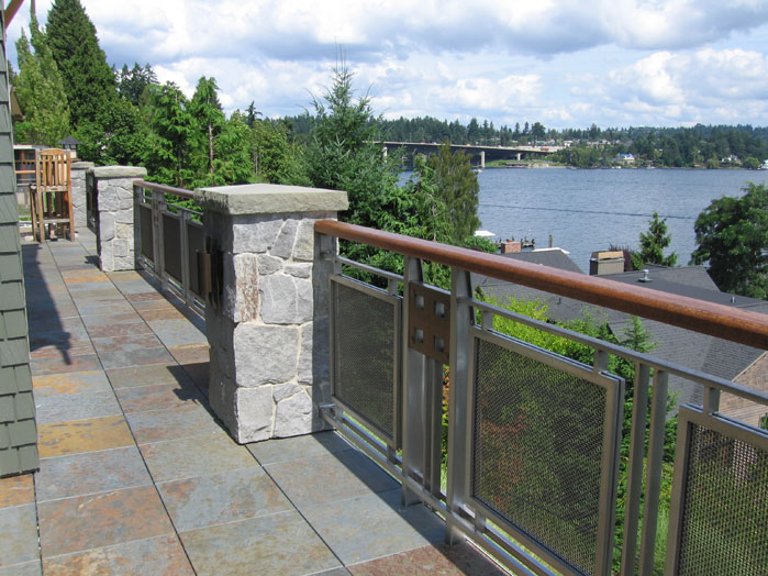 Steel Wire Mesh For Deck Railing - Trusted Wiring Diagram