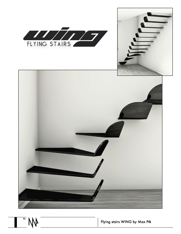 Flying stairs WING