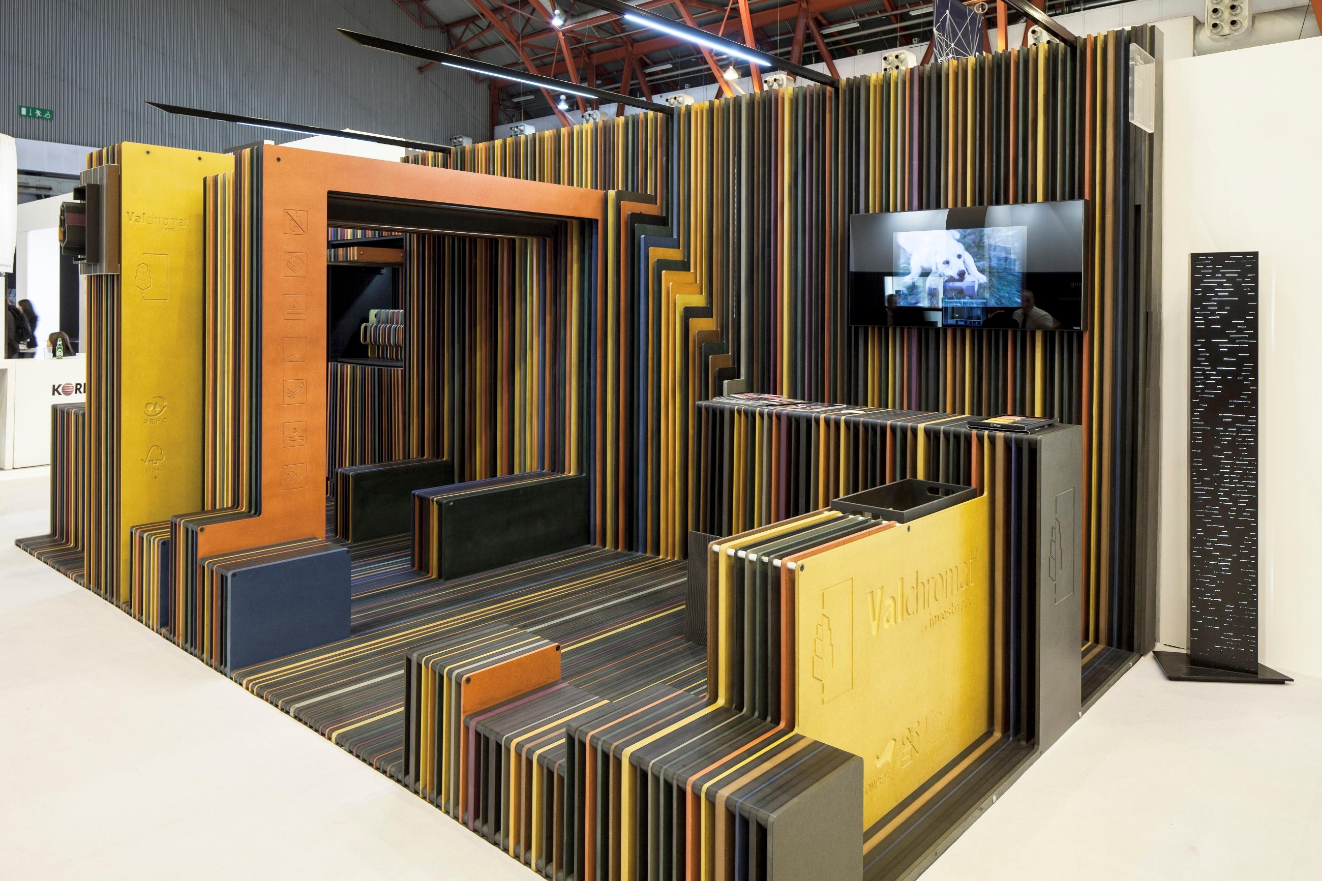 Valchromat Engineered Coloured Wood By Valchromat Archello