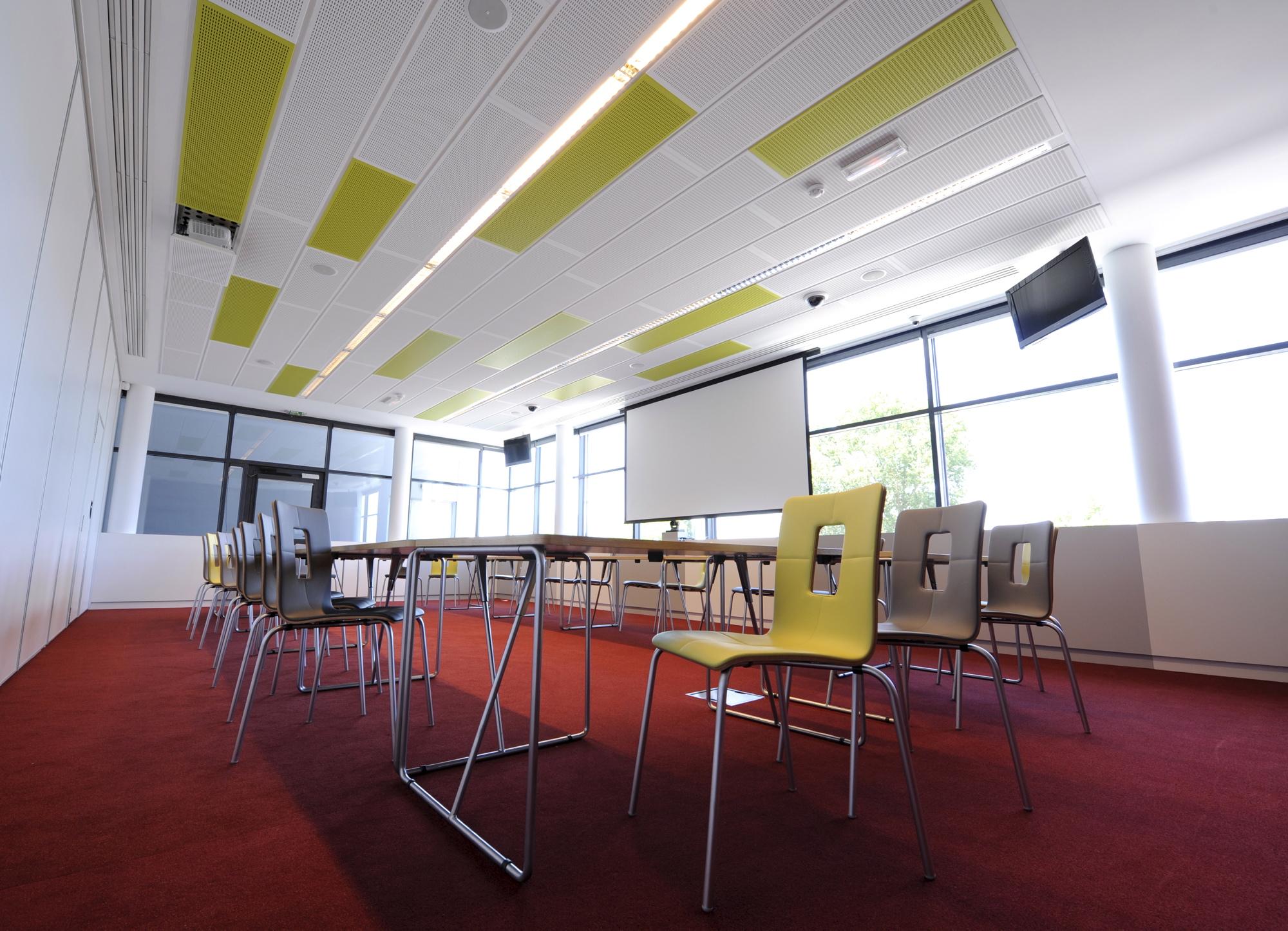 False Ceiling Design For Classroom ~ Visona by knauf danoline archello