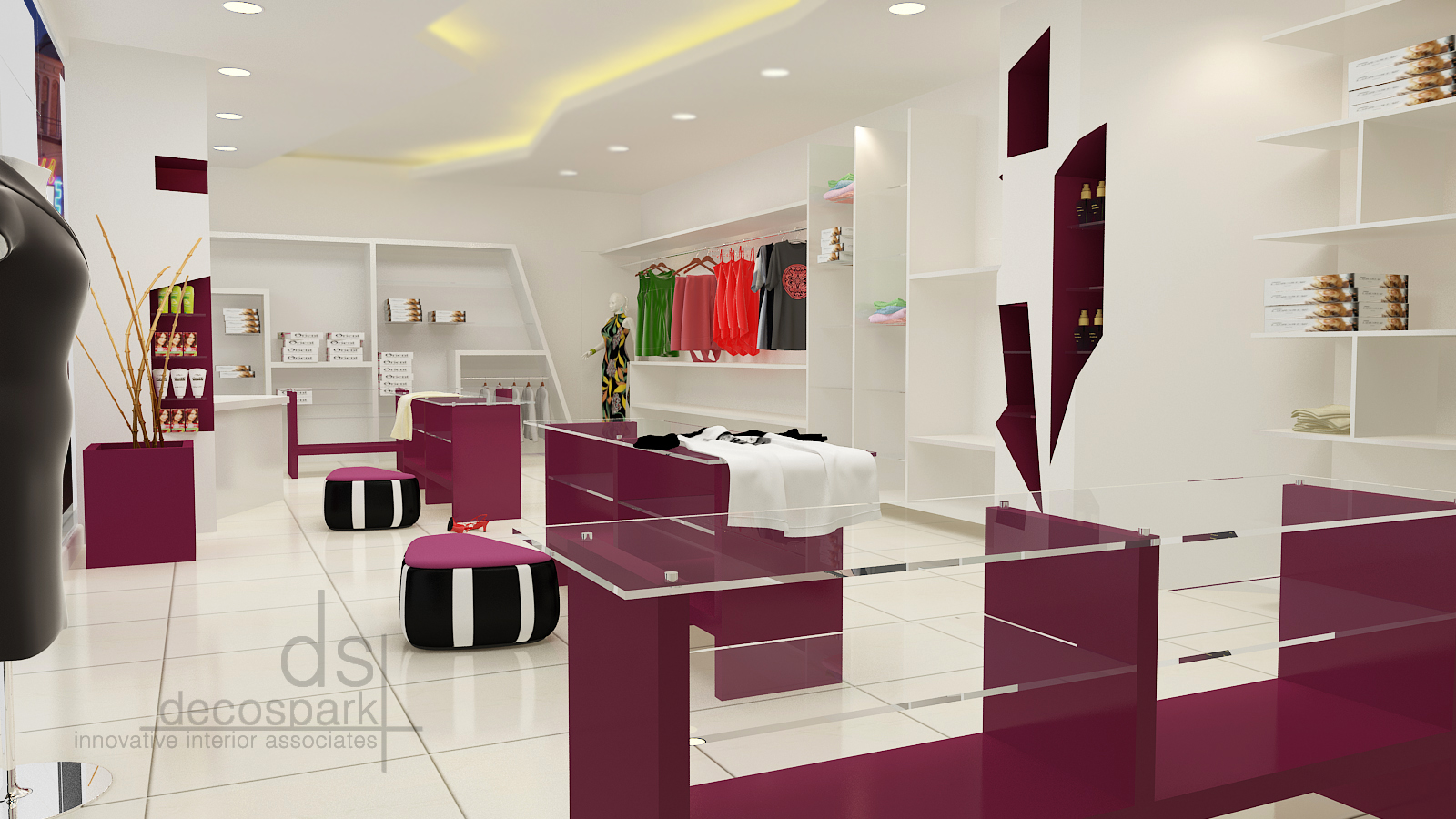 Feminine And Enveloping Fashion Boutique In Singapore By Knq