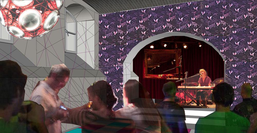 Multipurpose room - concert