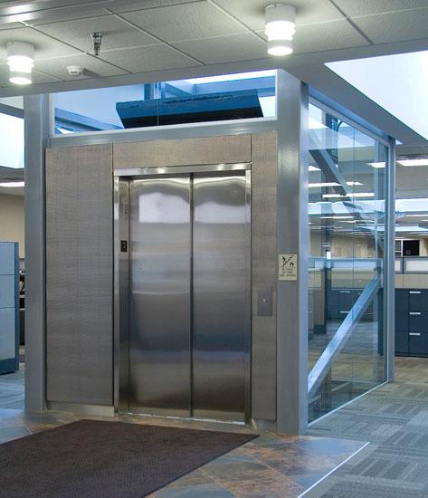 Bucyrus International Office Elevator Lobbys Banker Wire