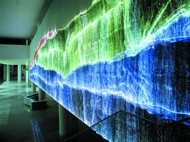 Luminous Fiber Optics Fabric By Lumigram Sarl Archello