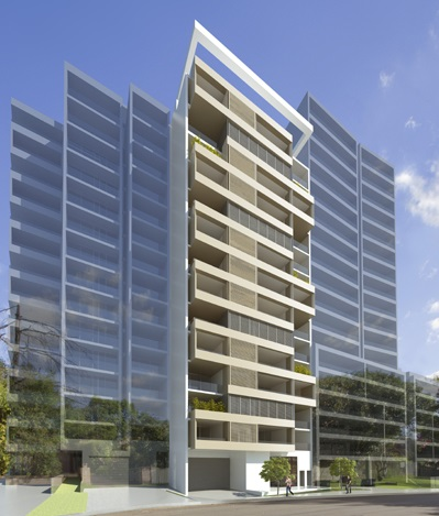 38 residential apartments + retail