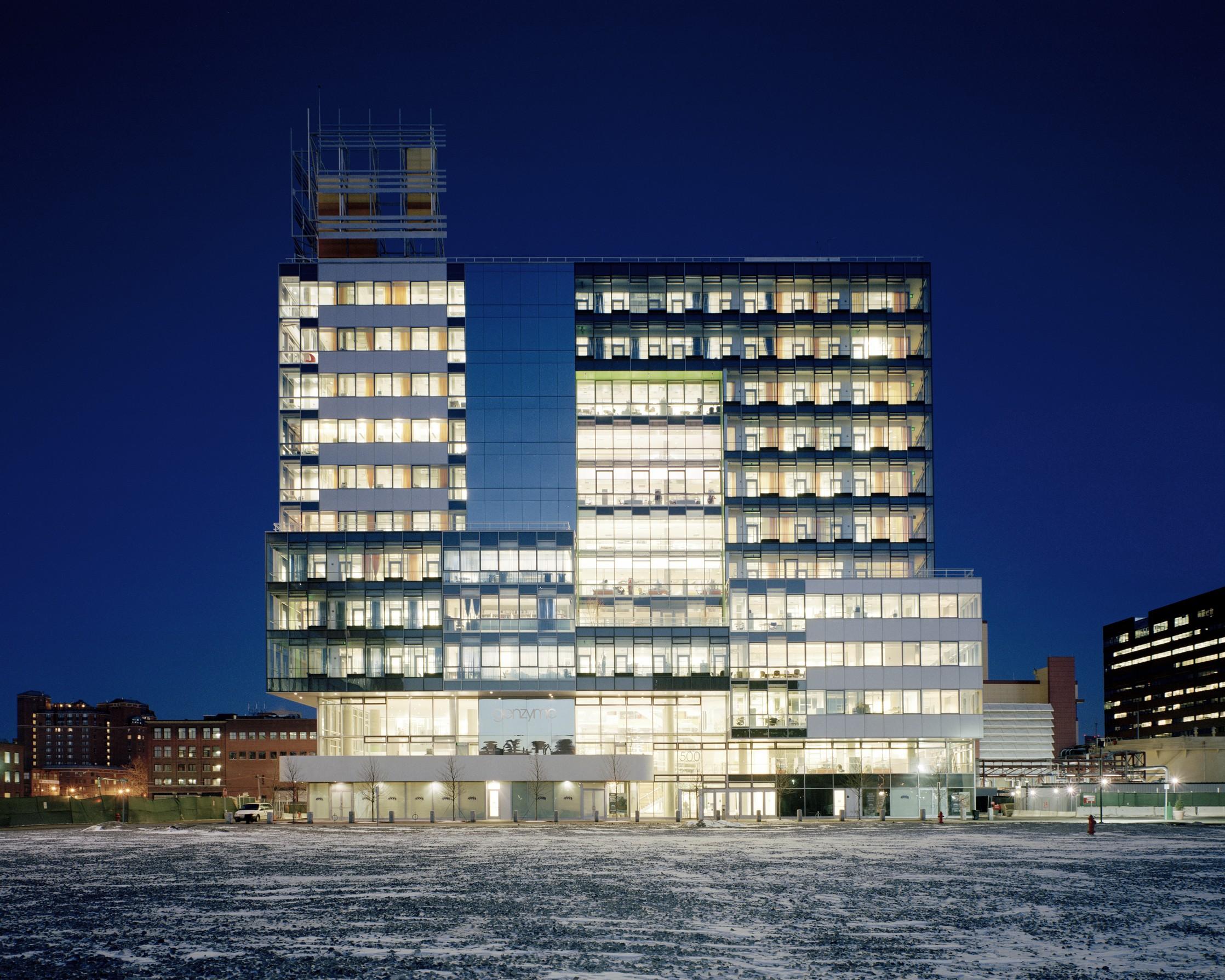 Genzyme center behnisch architekten archello - Behnisch architekten boston ...