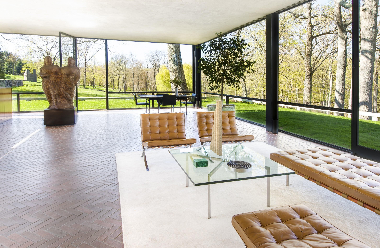 Philip Johnson Glass House glass house exhibitions spring 2013 | philip johnson glass