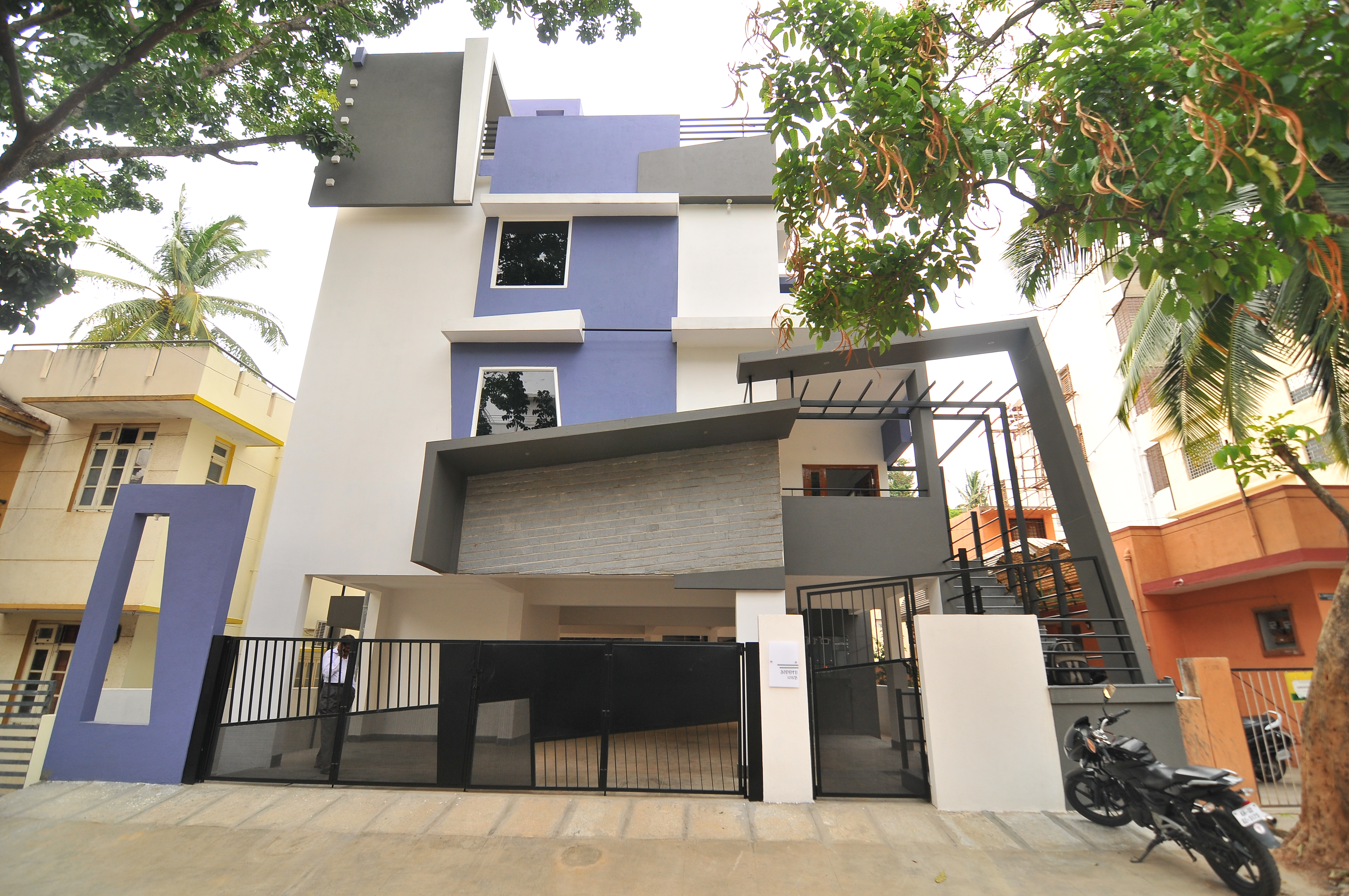 Chandrashekar 39 S Bungalow Designs Beautiful Homes Bangalore By Ashwin Architects Ashwin