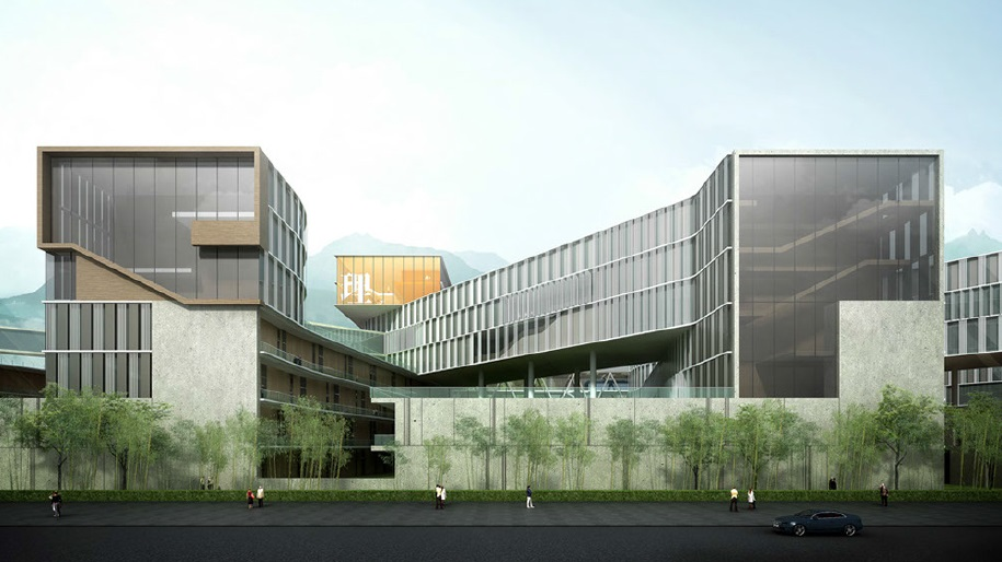 Comprehensive master plan of the chinese university of - College of design construction and planning ...