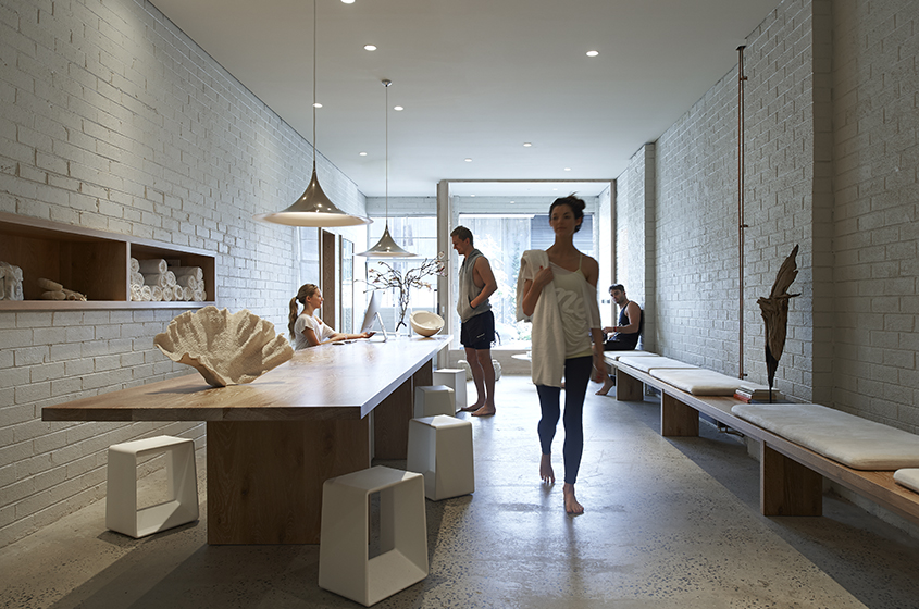 One Hot Yoga Robert Mills Architects And Interior Designers Archello