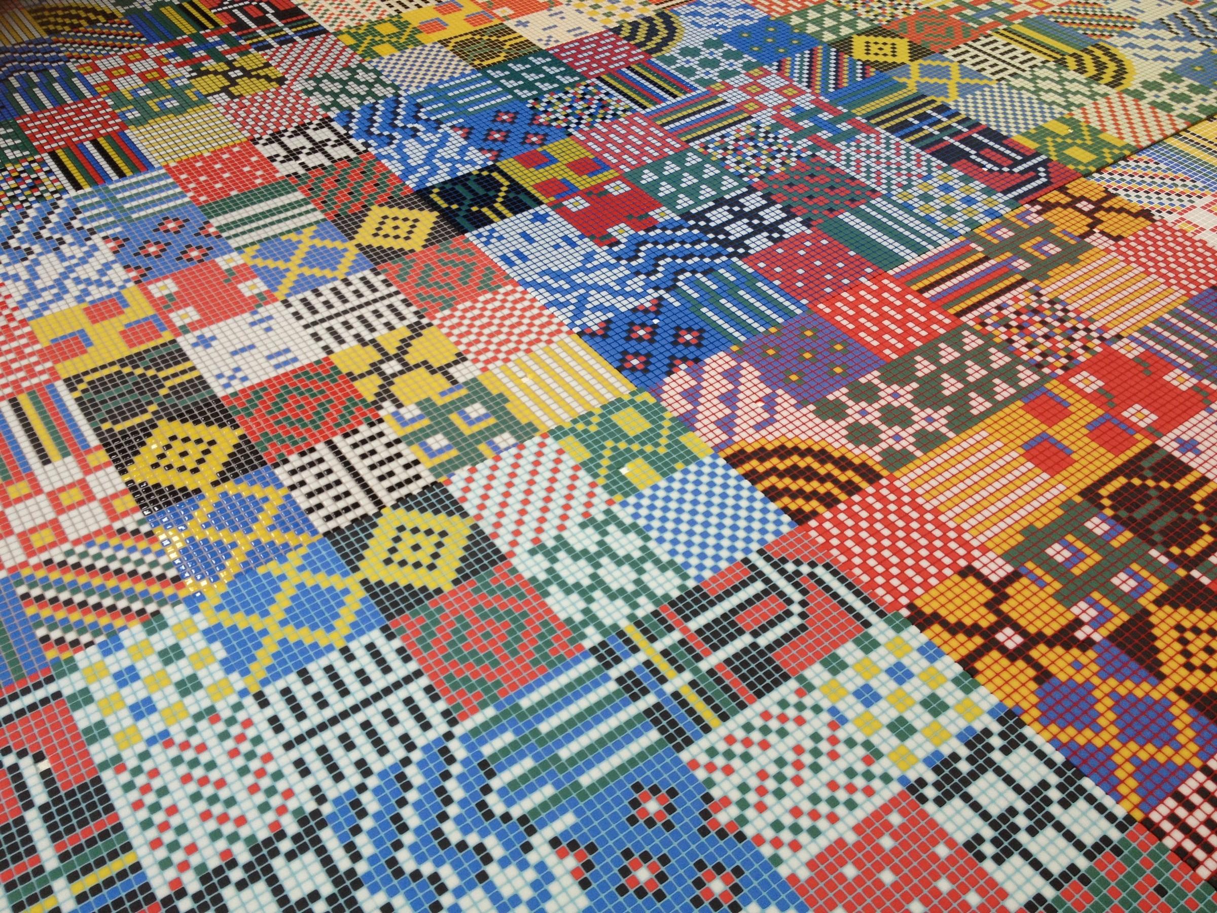 Patchwork By Reviglass Glass Mosaics Archello