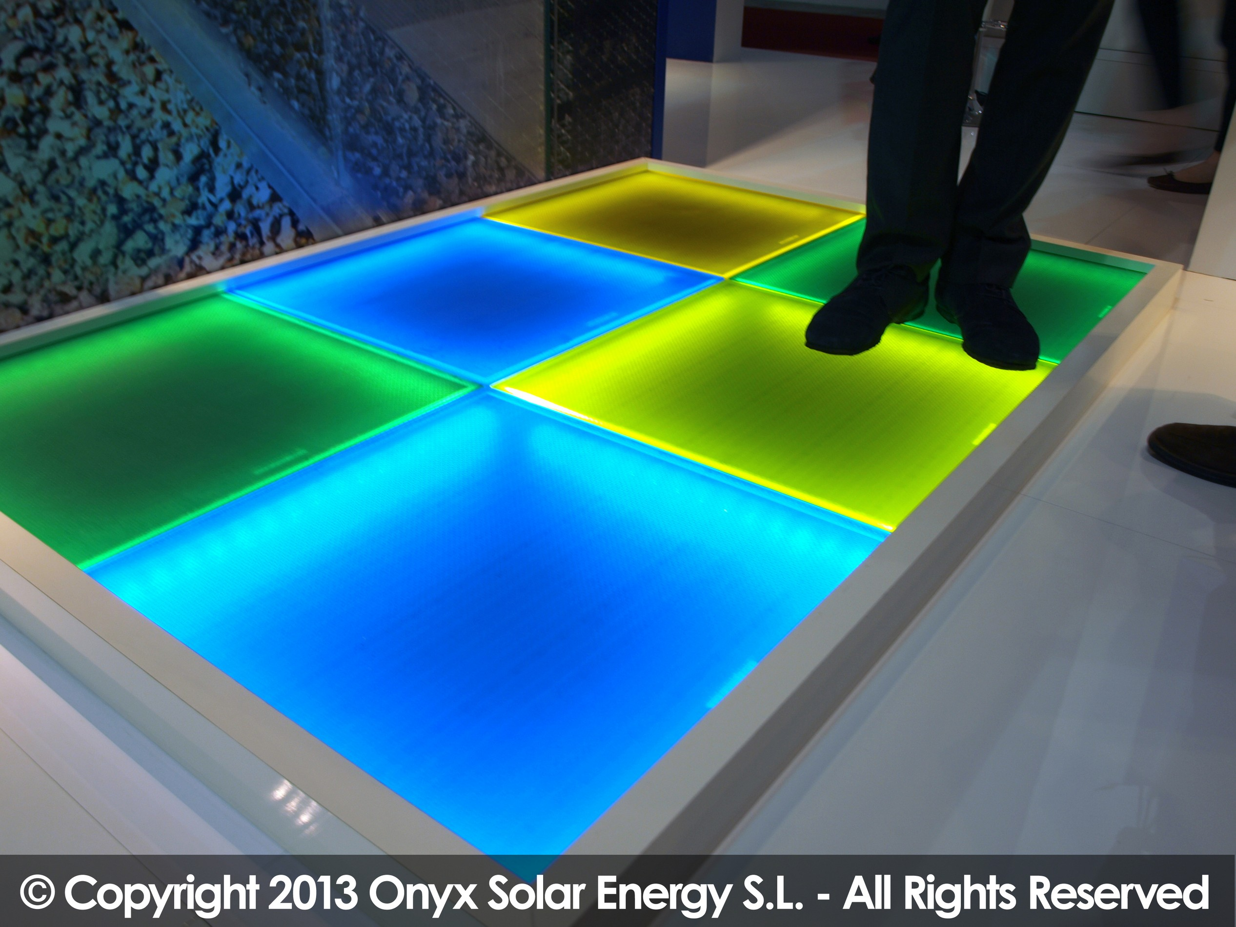 Walkable Pv Floor By Onyx Solar Archello