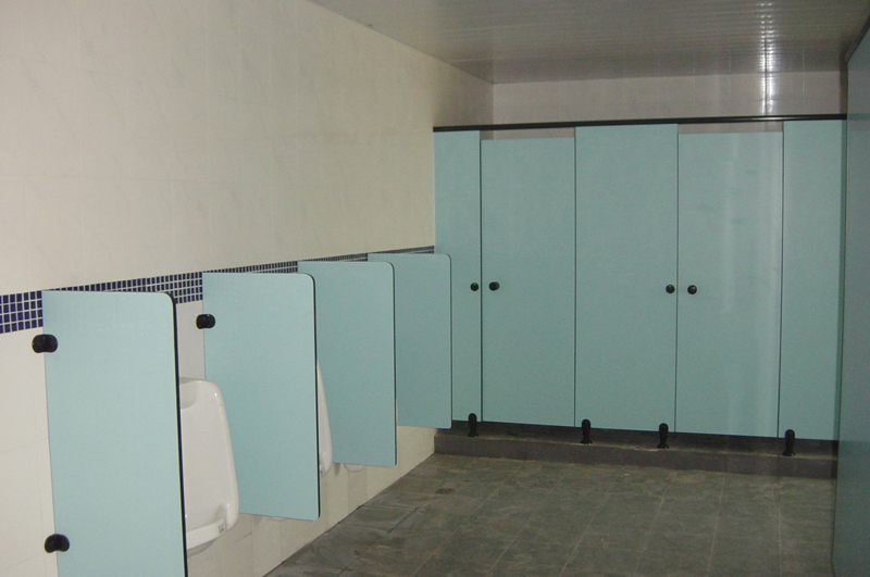 Toilet Cubicle Toilet Partition By Compact Hpl Locker Bench And - Bathroom privacy partitions