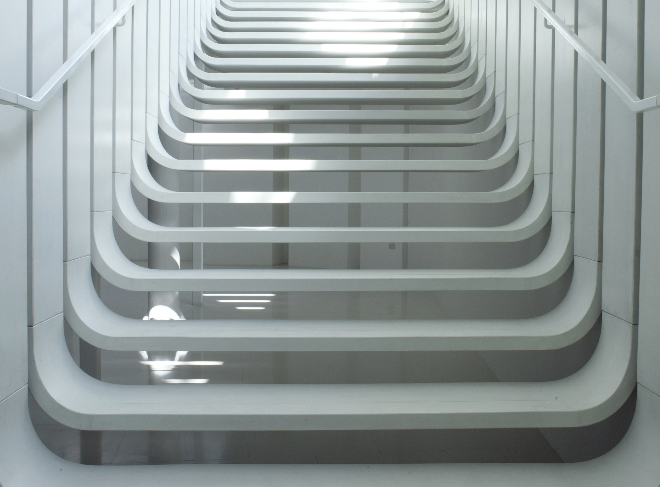 Floating Staircase by Zaha Hadid Architects | Archello