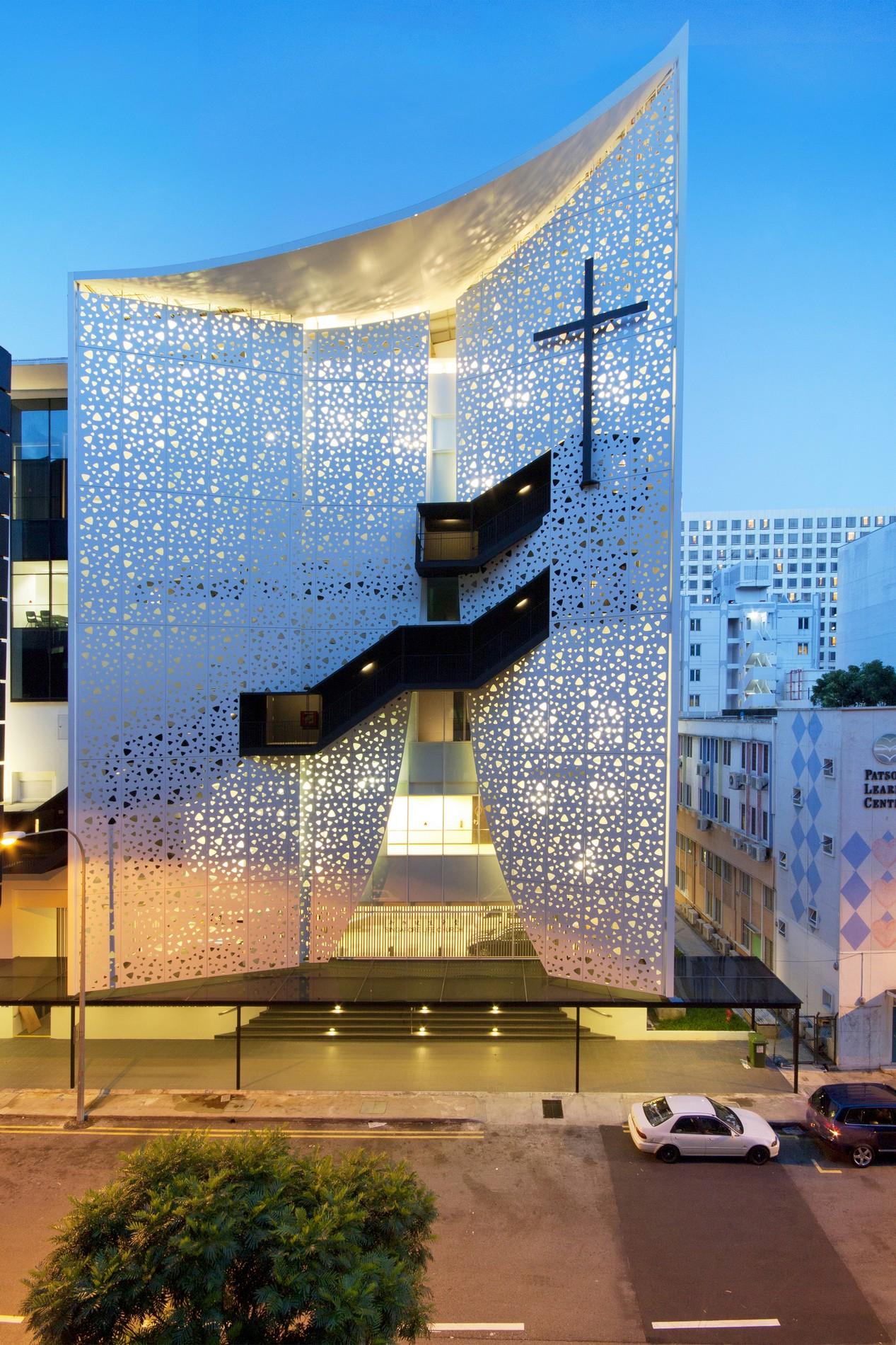 Singapore Life Church Laud Architects Archello