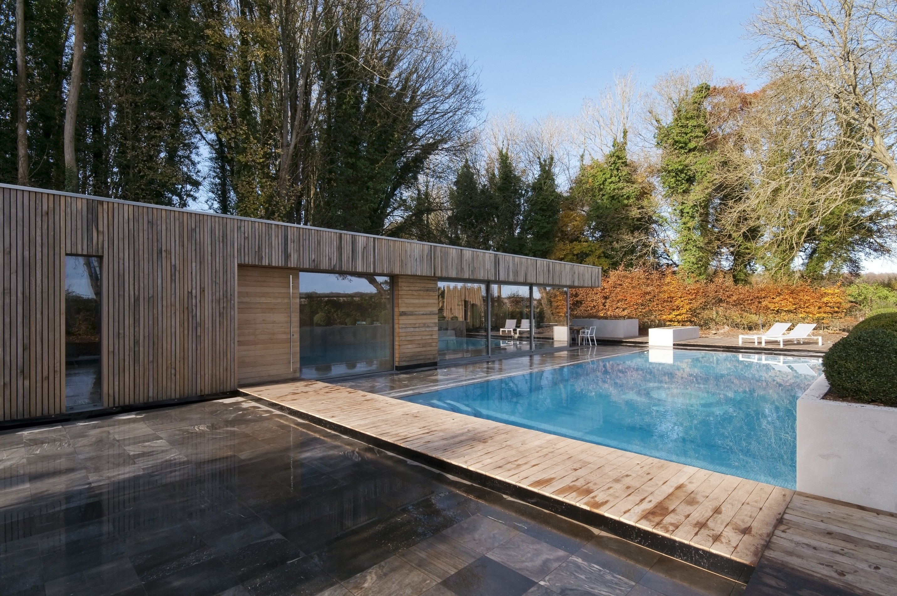 Bluebell Pool House