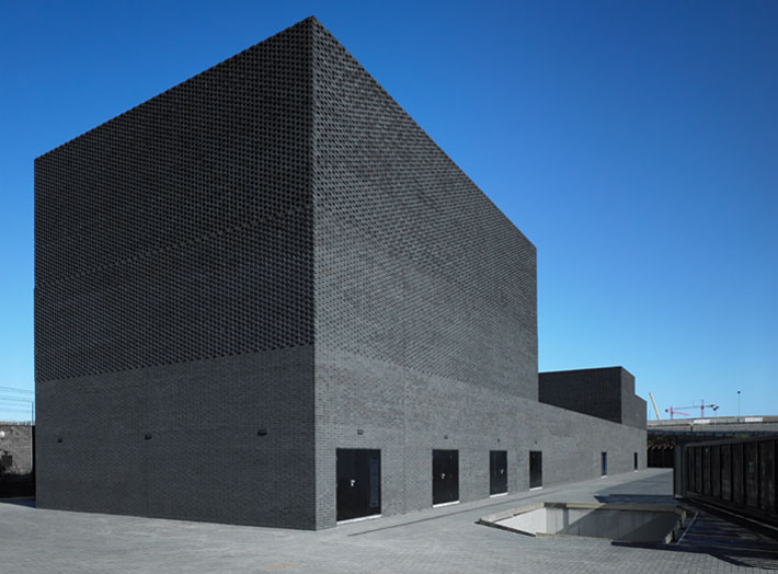 primary substation 2012 olympics nord architecture archello. Black Bedroom Furniture Sets. Home Design Ideas