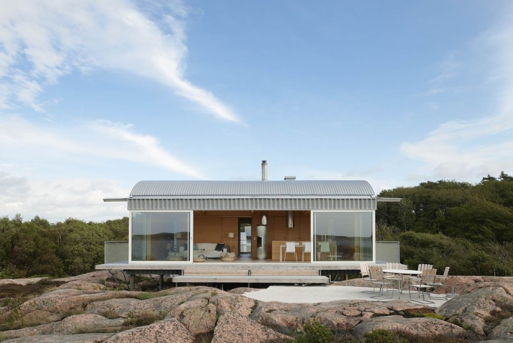 Summer Houses In Slavik Mats Fahlander Arkitekt Archello