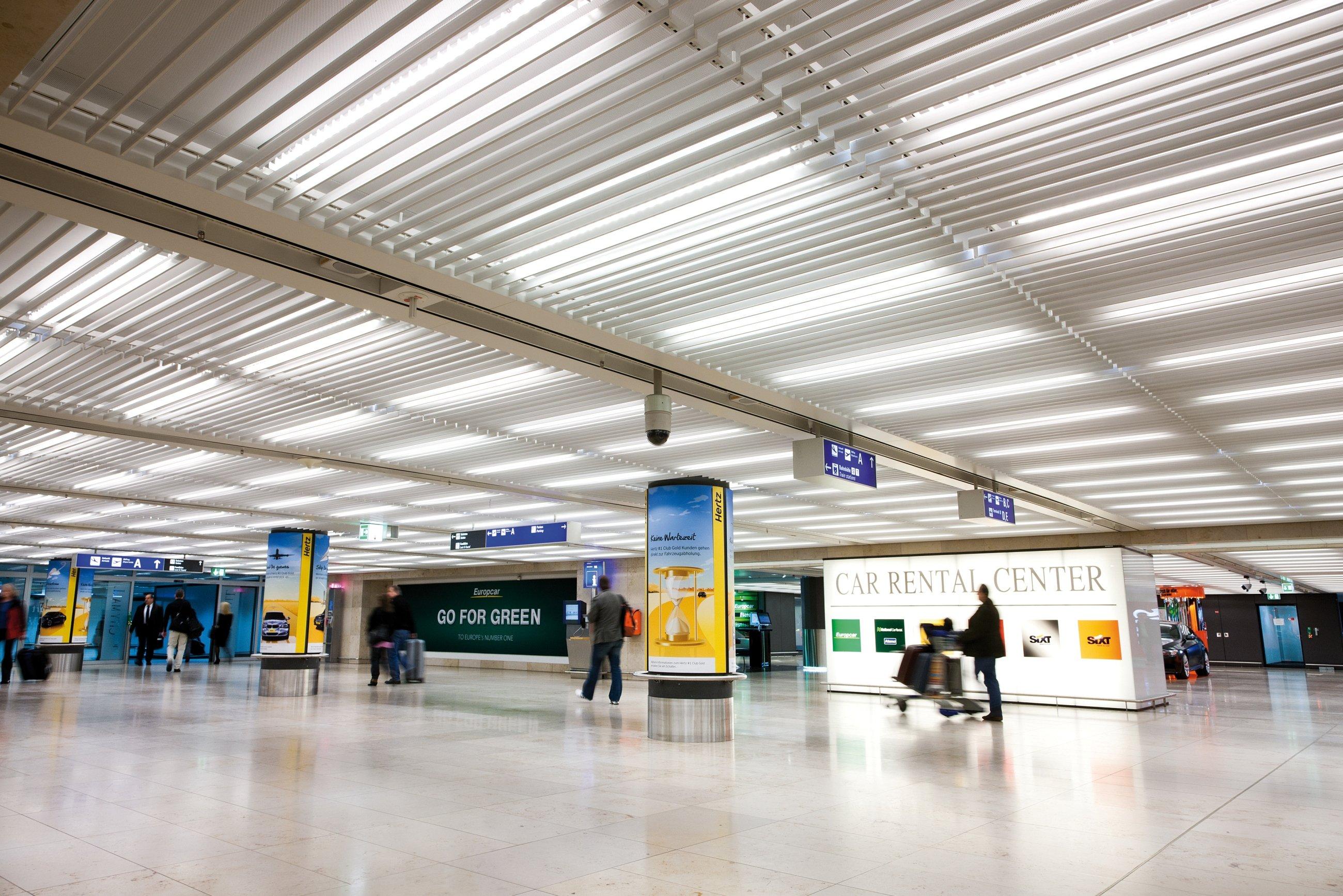 Frankfurt Airport Hunter Douglas Architectural Archello