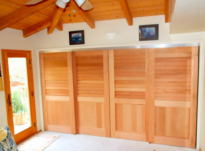 Cedar sliding closet doors by kestrel shutters doors archello planetlyrics Choice Image