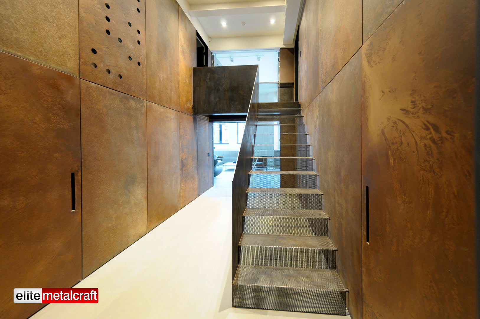 Howick Place Project   Straight Staircase