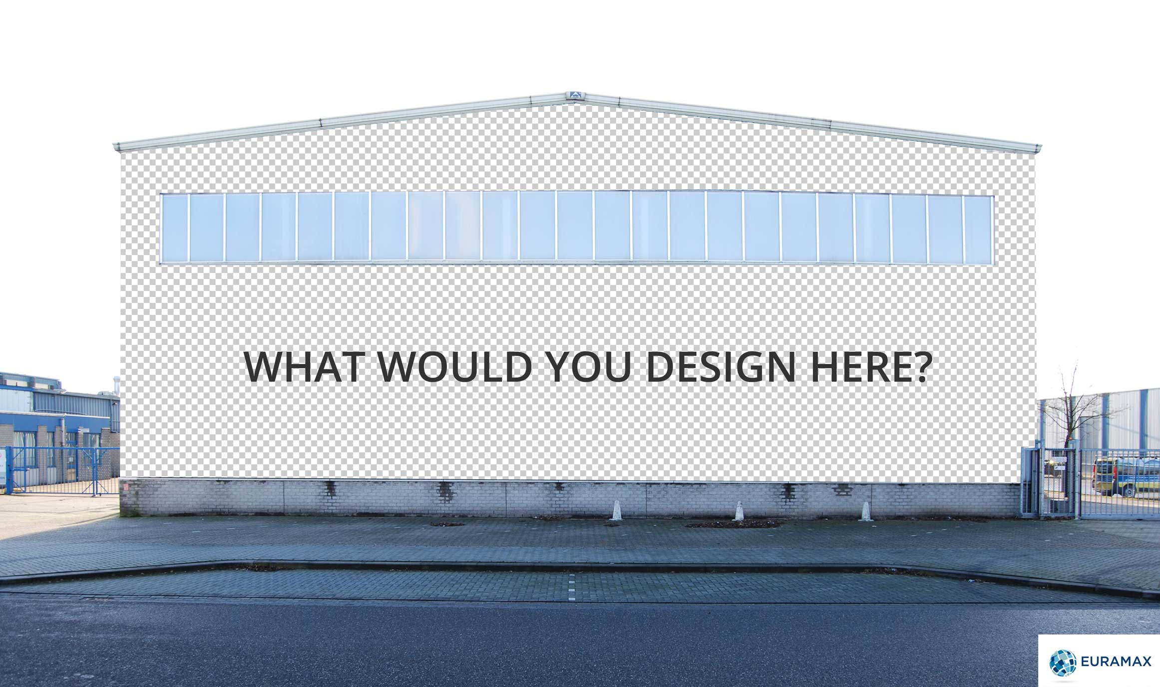 OPEN COMPETITION: Transform our factory wall with complete freedom of design
