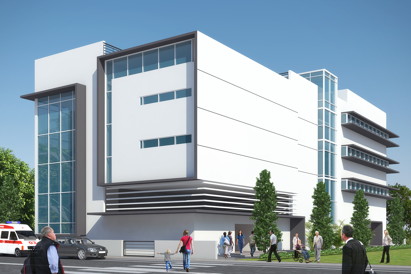 3D Architectural Rendering India   Pred Solutions | Pred Solutions |  Archello