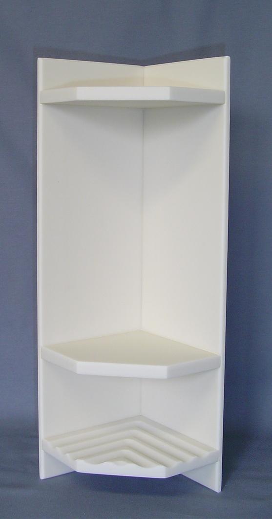 Plastic Corner Shower Shelves Corner Mounted Shower Caddy Plastic ...