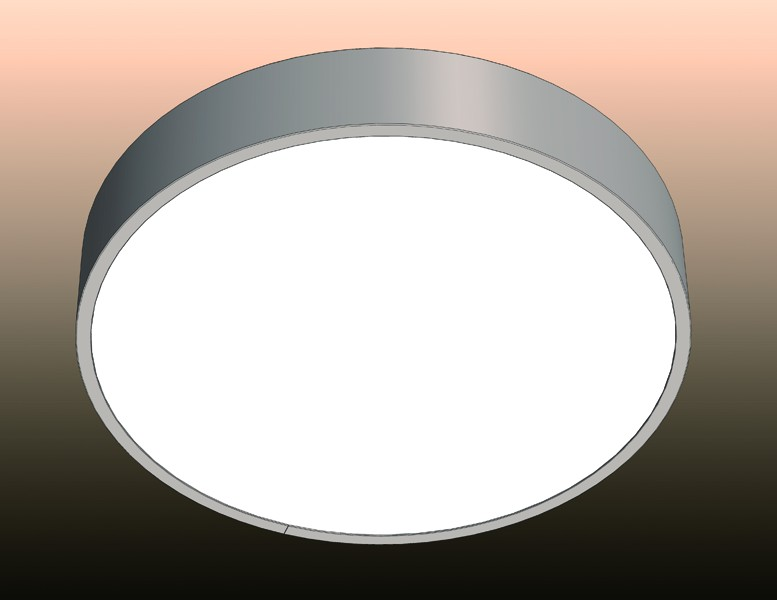 Round Ceiling Mounted Led Panel Light By Leds Lux Archello