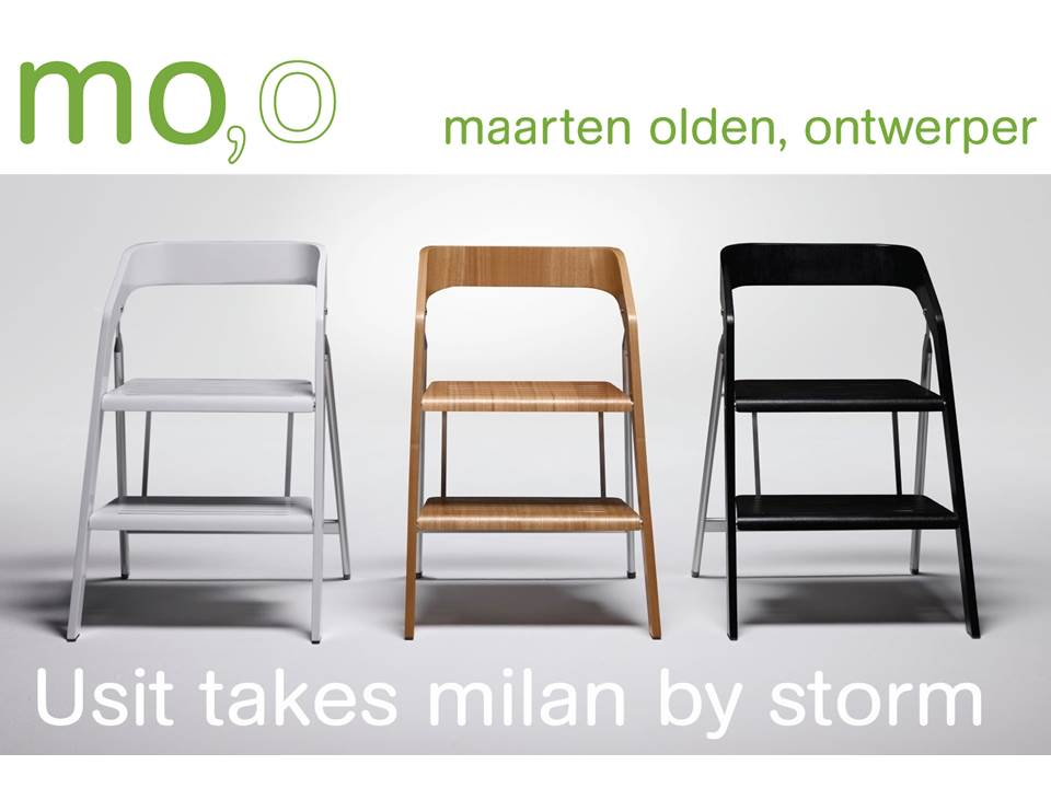 Fabulous Exhibition Usit Stepladder Chair Design During Salone Del Caraccident5 Cool Chair Designs And Ideas Caraccident5Info