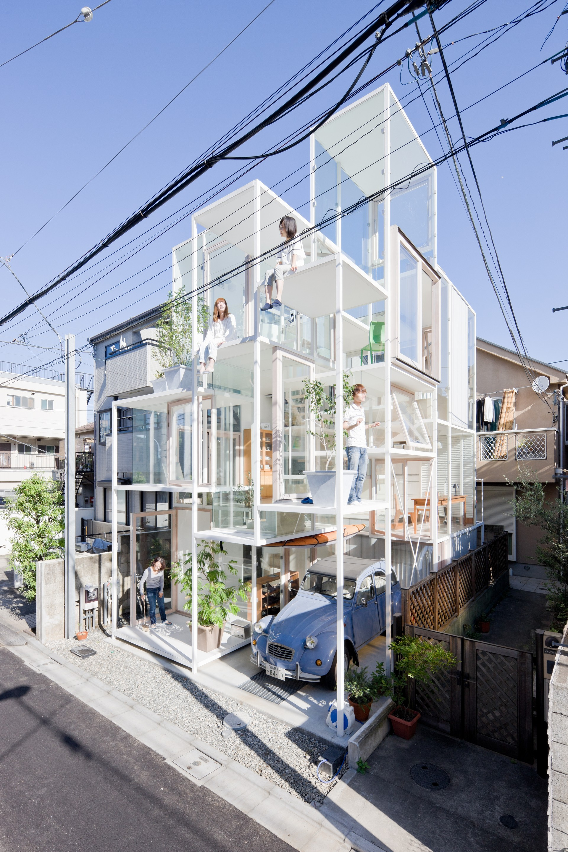 House na sou fujimoto architects archello - Architektur tokyo ...
