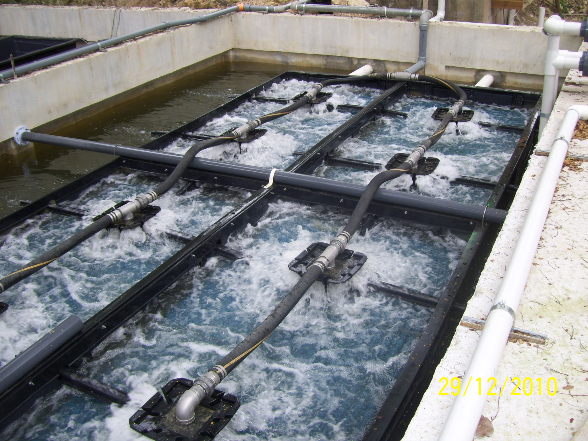 Community Wastewater Amp Water Reuse Treatment System By