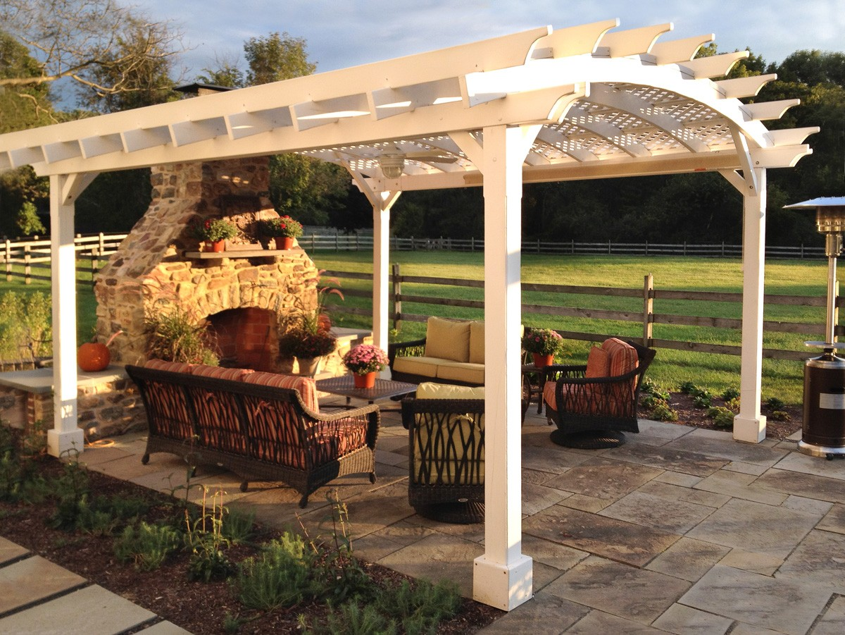 - Arched Pergola By Forever Redwood Archello