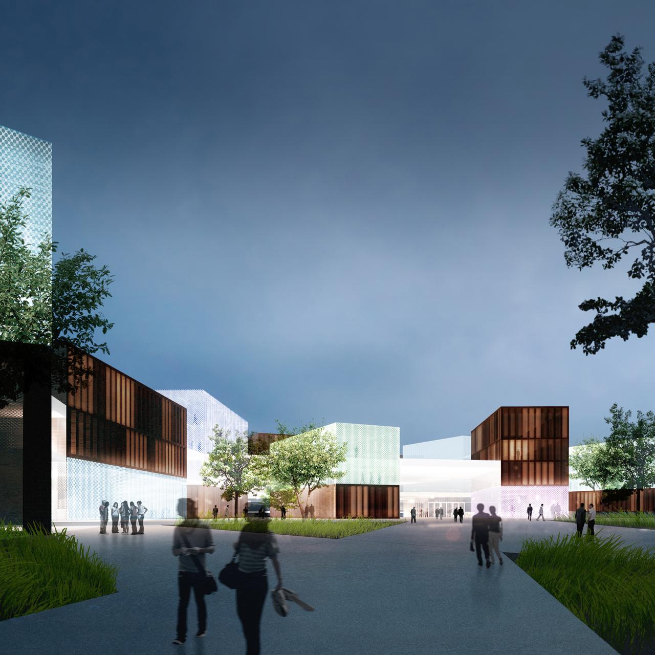 Aalto University Campus 2015 winning proposal | Verstas Architects | Archello
